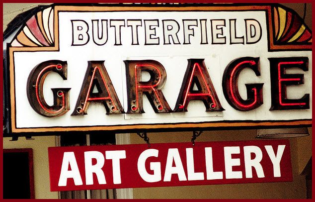 Butterfield Garage: 'First Friday' Exhibition